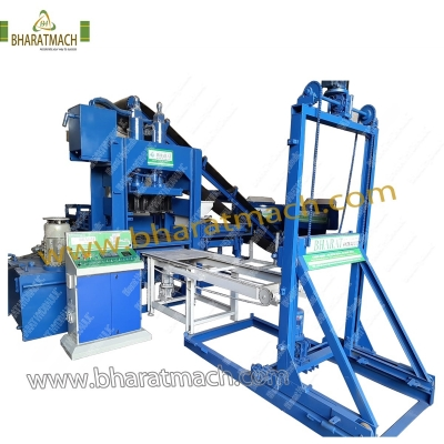 BHAS-301 (18cvt.) Automatic Fly Ash Bricks Machine with Stacker