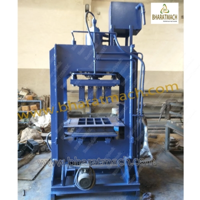 BHA-302D (8cvt.) Automatic Fly Ash Bricks Machine with Vibro.