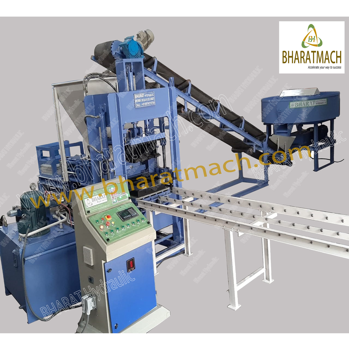 Hollow Block Making Machinery