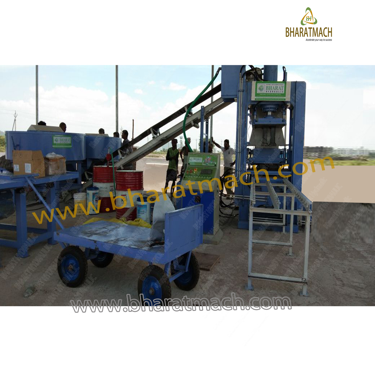 Solid Block Making Machinery