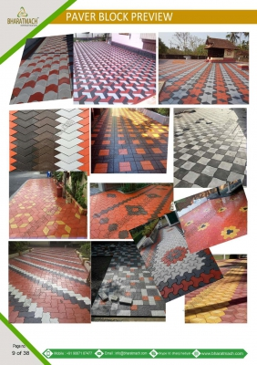 Paver Block Mould Design